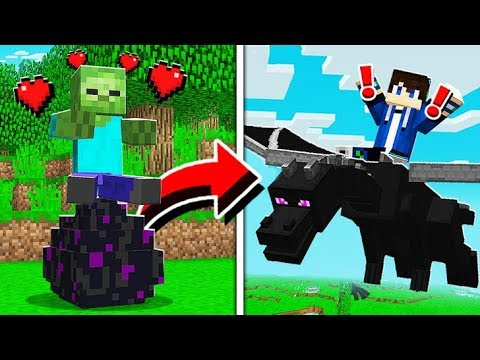 How To TAME And RIDE DRAGONS In Minecraft! (Pocket Edition, Xbox, PC)