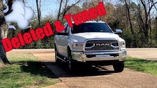 Deleted and Tuned 2017 Cummins Ram 2500 Laramie Longhorn