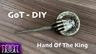 GoT - Hand of the King Brooch - DIY