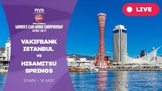 VakifBank Istanbul v Hisamitsu Springs - Women's Club World Championship 2017 Kobe
