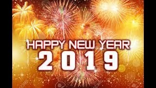 New Year 2019 Huge Fireworks Nepal