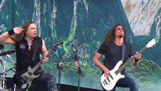 From Wacken Open Air 2017. I recommend you to watch this with 1080h...