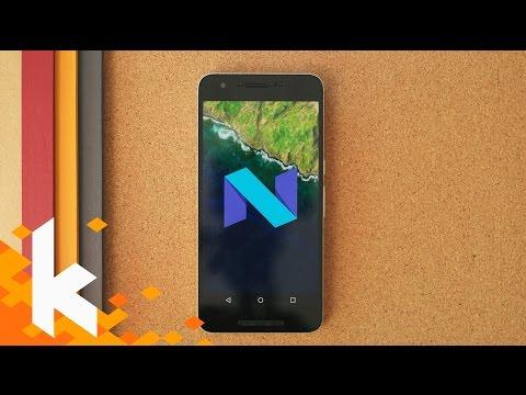 Das ist neu in Android Nougat!