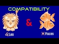 Leo & Pisces Sexual & Intimacy Compatibility