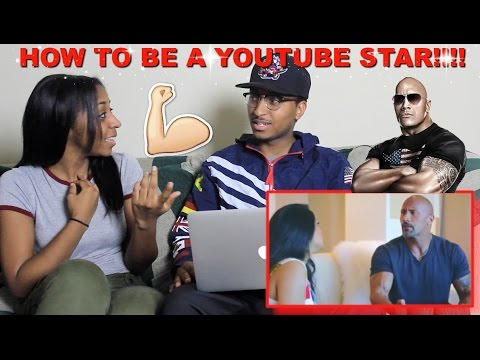 Couple Reacts : How To Be a YouTube Star (ft. The Rock) By iiSuperwomanii Reaction!!!
