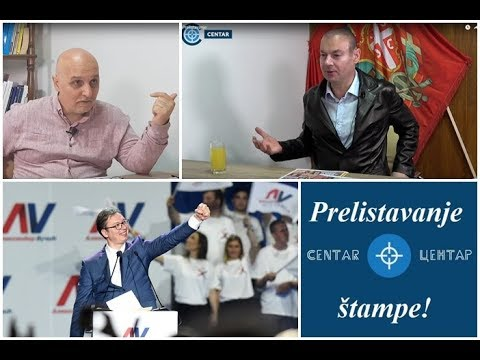 PRELISTAVANJE ŠTAMPE Tajni sastanak - najveća Vučićeva izdaja patriota  | D. Petrović i Dejan Petar
