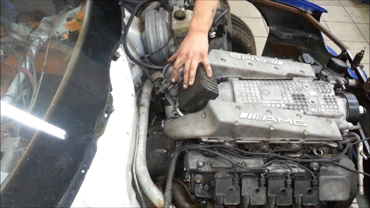 Mercedes M113 kompressor engine first start