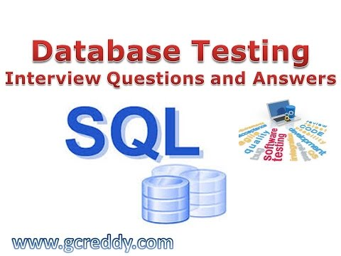 database testing interview questions youtube rh youtube com Interview Questions and Answers Printable MLA Format Interview Question and Answer