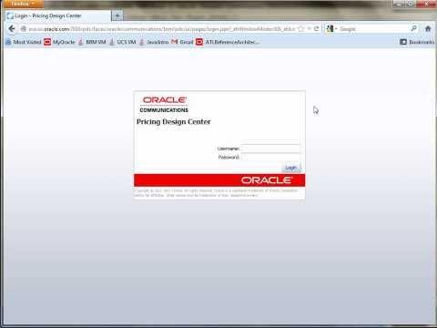 Oracle BRM Hello World Data Enter, Part II