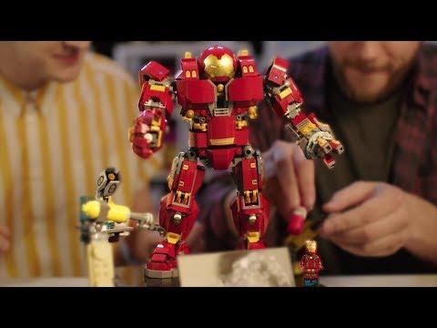 LEGO Hulkbuster: Ultron Edition Designer Video | Marvel Super Heroes | LEGO 76105