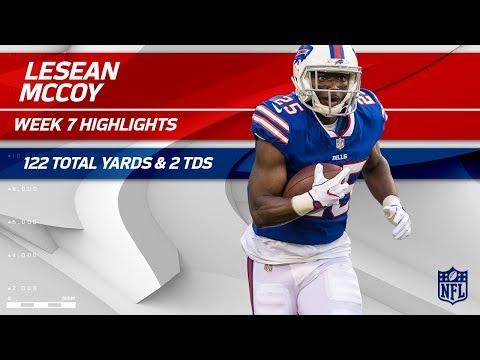 LeSean McCoy's Massive Game w/ 122 Total Yards & 2 TDs! | Bucs vs. Bills | Wk 7 Player Highlights