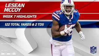 LeSean McCoy's Massive Game w/ 122 Total Yards & 2 TDs! | Bucs vs. Bills | Wk 7 Player Highlights