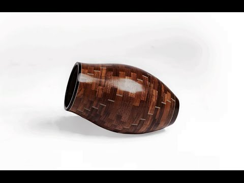 Turning A Segmented Vase