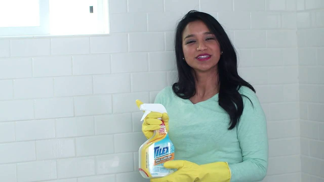 How to Clean Bathroom Tile - YouTube