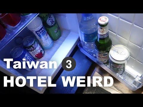 [Vegan goes to Taiwan #3] Hotel room with doorless bathroom