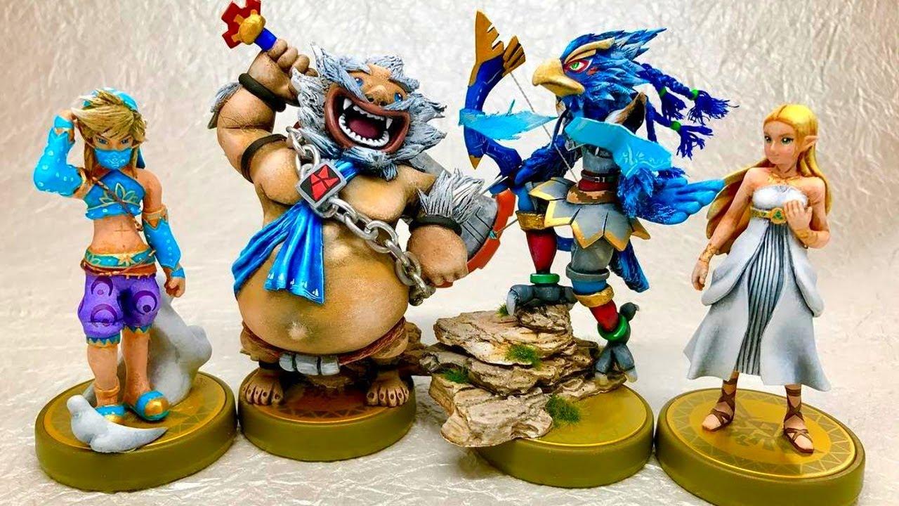 What Will New Champions Amiibo Do Champions Ballad Zelda Breath