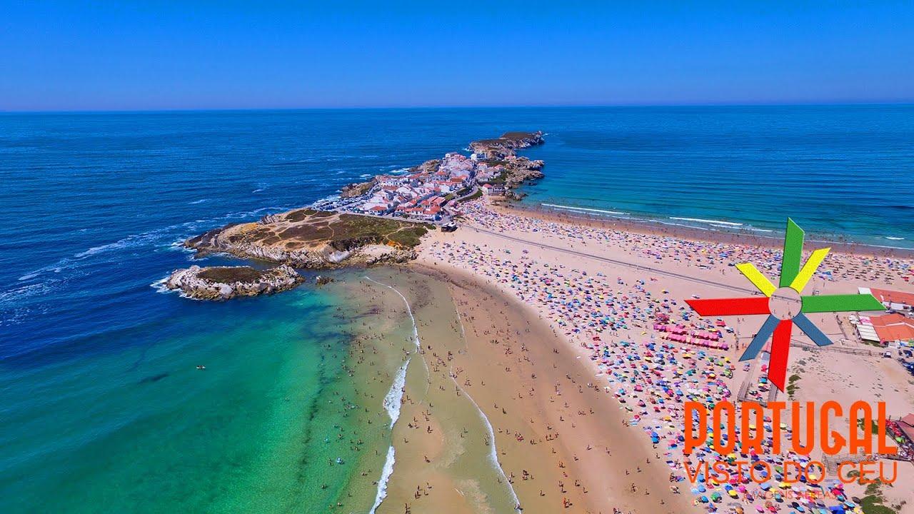Baleal Island Aerial View K Ultra HD YouTube - Portugal map baleal