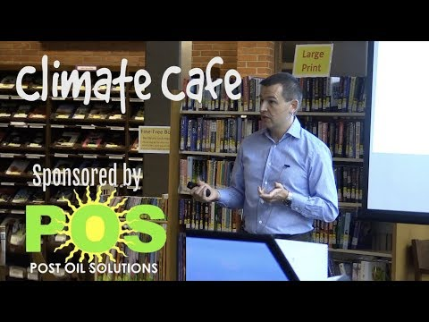Climate Cafe: Edward Cameron - Climate Risk & Resilience 10/24/17