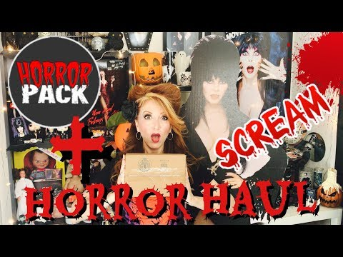 HorrorPack x 2 Horror Halloween Monsterpalooza Terror Threads Haul Scream Mag