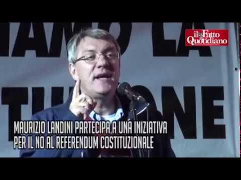 Pizzo blog Landini su referendum