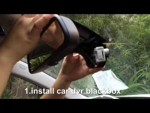 BMW Car Dash Cam DVR Black Box Install Manual