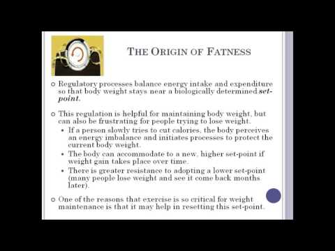 Overweight and Obesity in Adults Lecture by Dr. Dominique Ruggieri