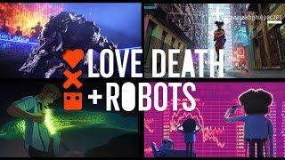 Love, Death + Robots  = forma ❤️ treść  Czyli przemoc, CYBERPUNK i Netflix | BEZ SPOILERÓW