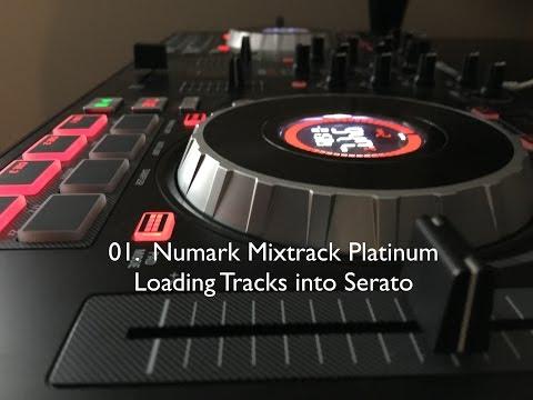 01.  Numark Mixtrack Platinum - Loading Tracks into Serato