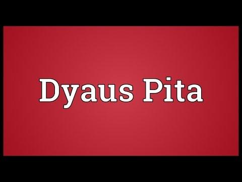 Dyaus Pita Meaning
