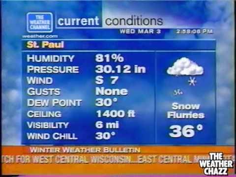 Saint Paul WeatherSTAR XL - March 2004