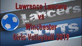 LHS Girls Volleyball vs Winchester