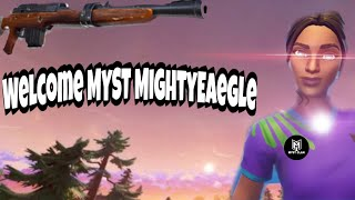 NEW CLAN MEMBER MYST mightyeaegle