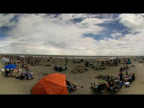 8/21/17 total solar eclipse from Wild Dunes, Isle of Palms, SC in 360 degrees