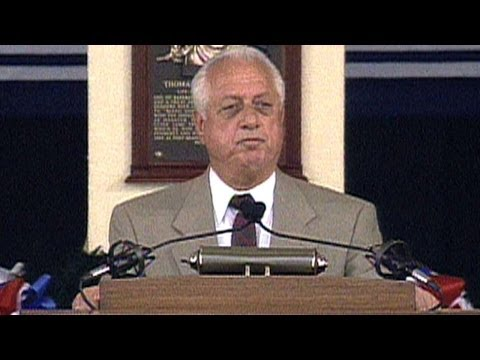 Tommy Lasorda delivers Hall of Fame induction speech