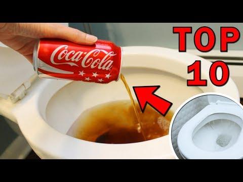 TOP 10 triků a vychytávek s Coca colou, nad kterými zůstává rozum stát