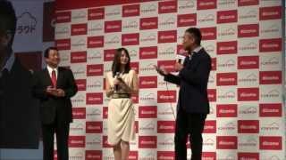 RBB TODAY 16日、女優の堀北真希さんと俳優の渡辺謙さんが、NTTドコモの...