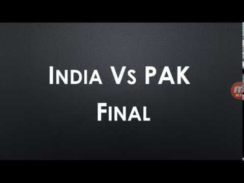 India vs Pakistan, live cricket score, Champions Trophy final 2017, watch live match, mauka mauka