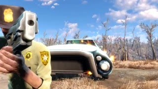 Трейлер сериала «Ходячие мертвецы» воссоздали в Fallout 4