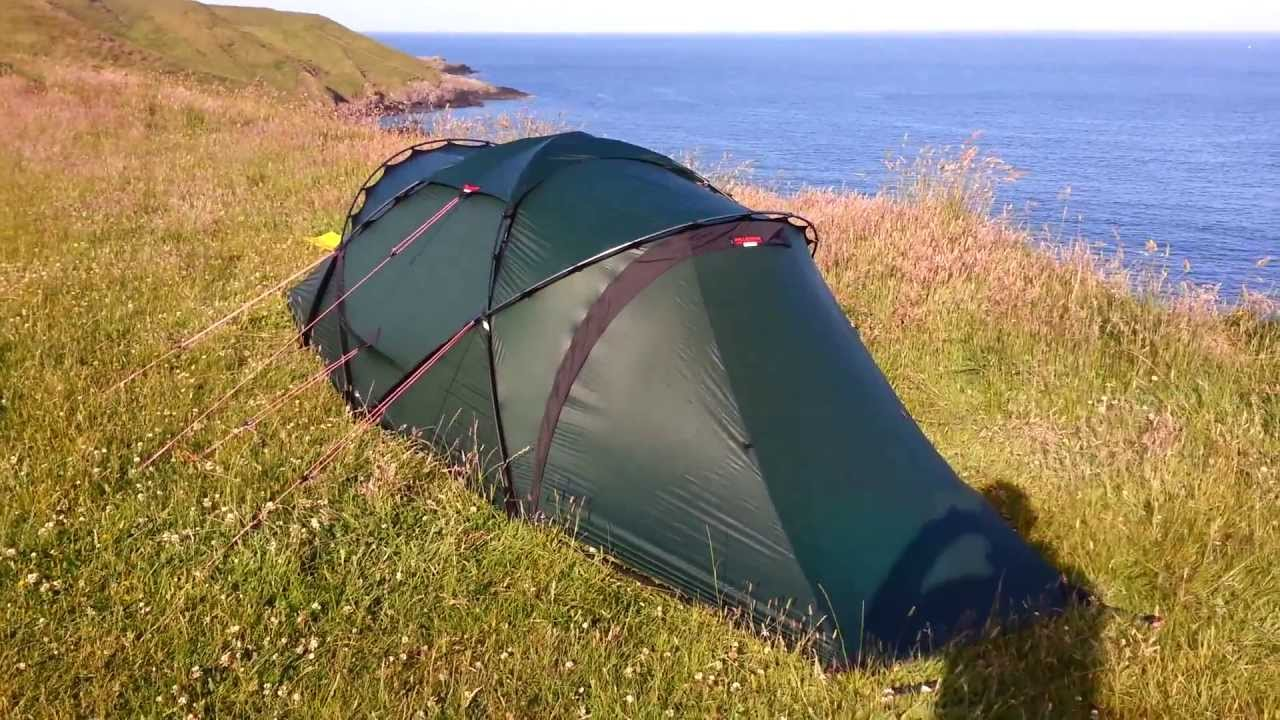 & Hilleberg Tarra Wild camping in Wales Aberdaron - YouTube