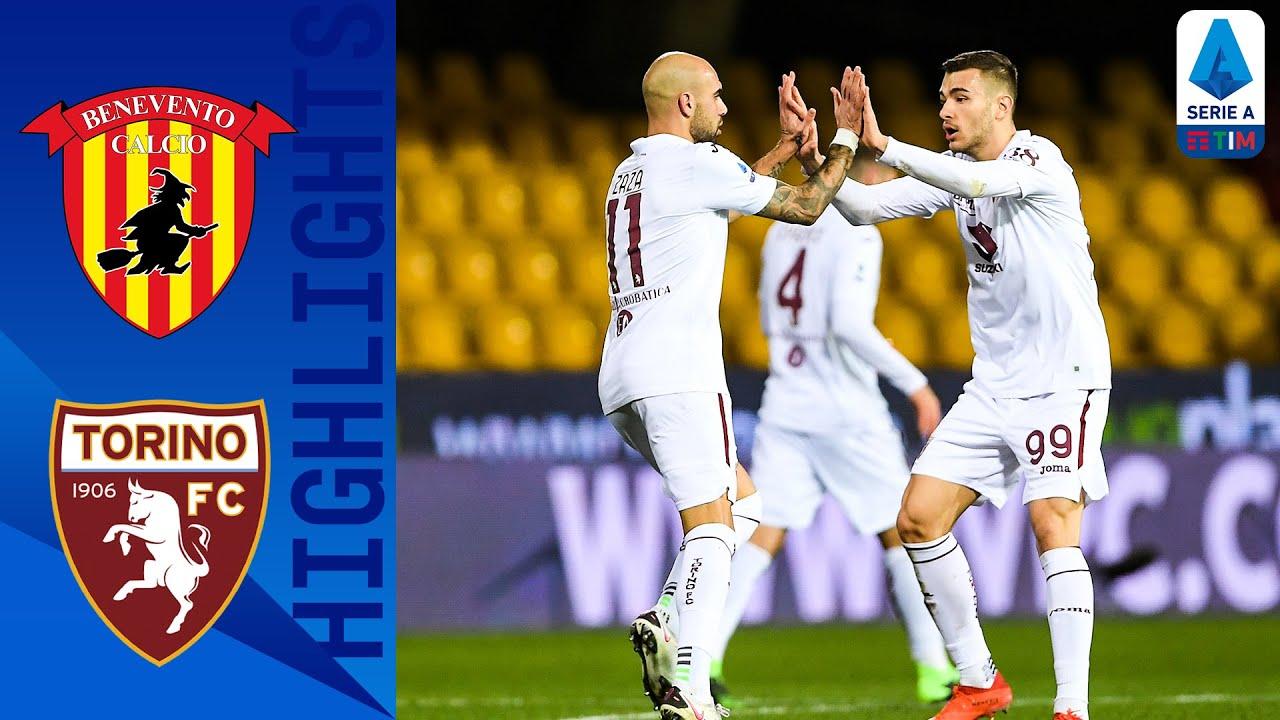 Benevento 2-2 Torino | Zaza Scores Last-Minute Equaliser! | Serie A TIM
