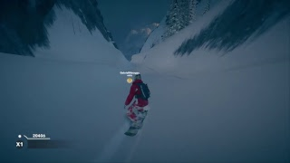 Steep freestyle and messing around
