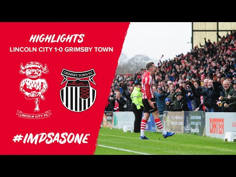 Lincoln City v Grimsby Town