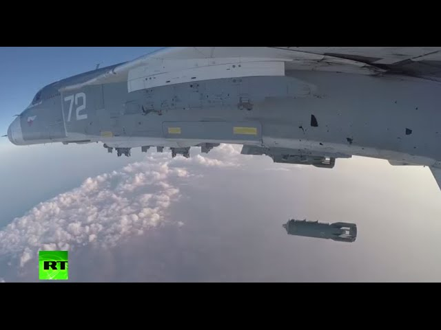 Combat cam: Russian Air Force kills 60 militants in Deir ez-Zor