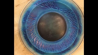 Wood Turned Art :   Carving And Color  (part 2)