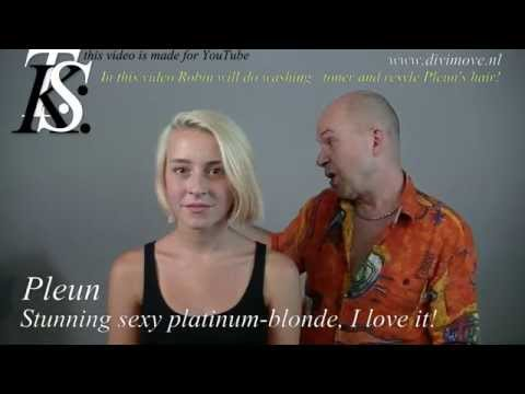 **Stunning Sexy Platinum Blonde** I LOVE IT! Pleun /Robin by T K S
