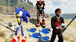 Sonic Boom ve Örümcek Çocuk Kirpi Shadow'un Eline Düştü (GTA 5 Hikaye Modu)