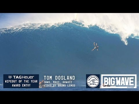 Tom Dosland at Jaws – 2016 TAG Heuer Wipeout of the Year Entry – WSL Big Wave Awards