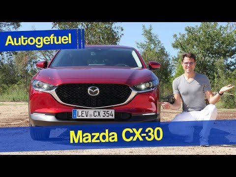 all-new Mazda CX-30 REVIEW - between CX-3 and CX-5 - Autogefuel