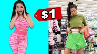 $1 Dollar Store OUTFIT CHALLENGE