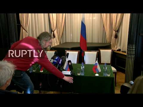 LIVE: Russian OPCW mission gives statement following board meeting on Douma